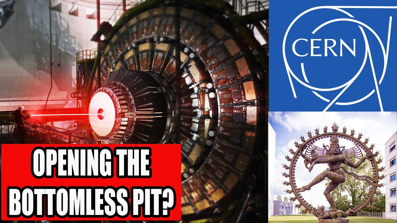 CERN Collider:  Portals, Anti-matter, and Opening the Bottomless Pit