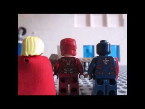 Lego Avengers: Ultron Unleashed (part 1) Clip: The Vision