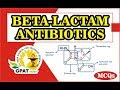 BETA-LACTAM ANTIBIOTICS MCQS | PHARMACOLOGY | IMPORTANT FOR GPAT-2019
