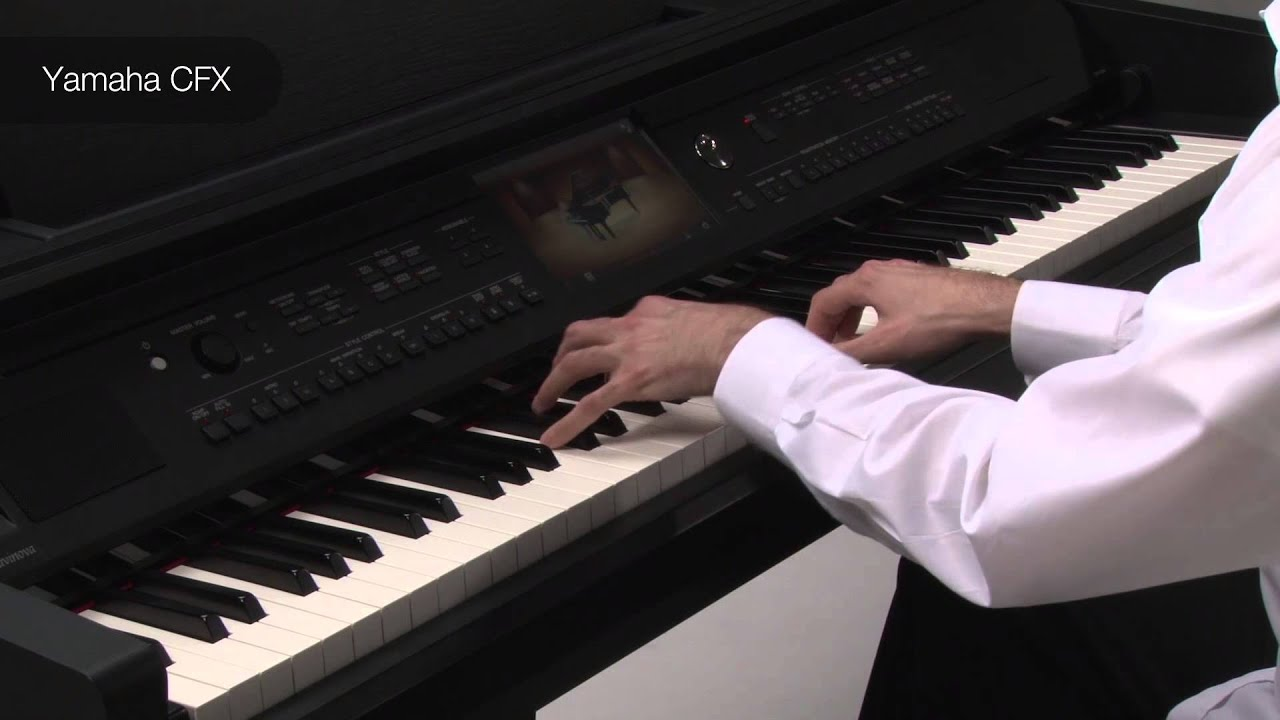 yamaha cvp 700 series features 1 piano quality youtube