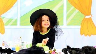 Кати и волшебный цветок. Маленькая Ведьмочка Кати - Мультики для девочек
