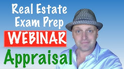 Real Estate exam Appraisal webinar