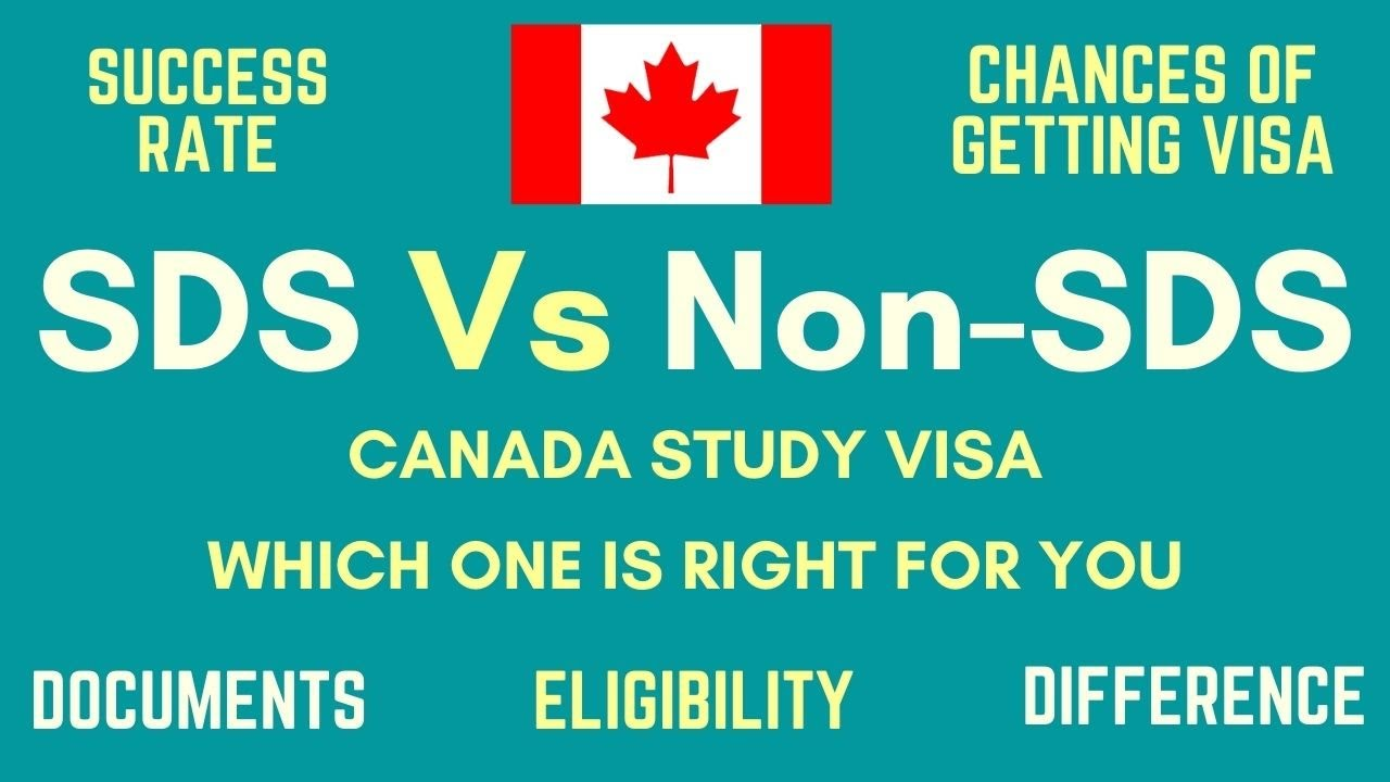 SDS Vs Non SDS Visa for Studying in Canada - YouTube
