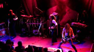 Enslaved - Drum solo + Immigrant Song (Led Zeppelin cover) Live In Montreal - September 29, 2011