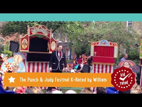Punch & Judy Festival, Covent Garden K-Rated by William