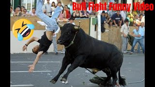 Bull Fight Funny Video | Bull Fighting Funny Clips | Bull Fight Funny Compilation