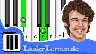 AnnenMayKantereit - Barfuß Am Klavier - Klavier lernen - Musiknoten - Akkorde