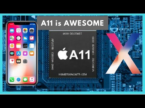A11 Chip In iPhone X Is AMAZING // BEATS MacBook PRO