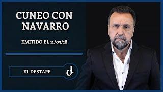 El Destape | Santiago Cuneo con Roberto Navarro