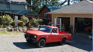 1979 chevy luv video clip
