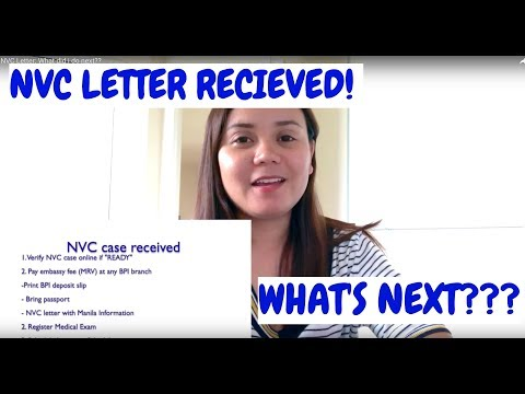 What To Do After I received NVC Letter??? - YouTube