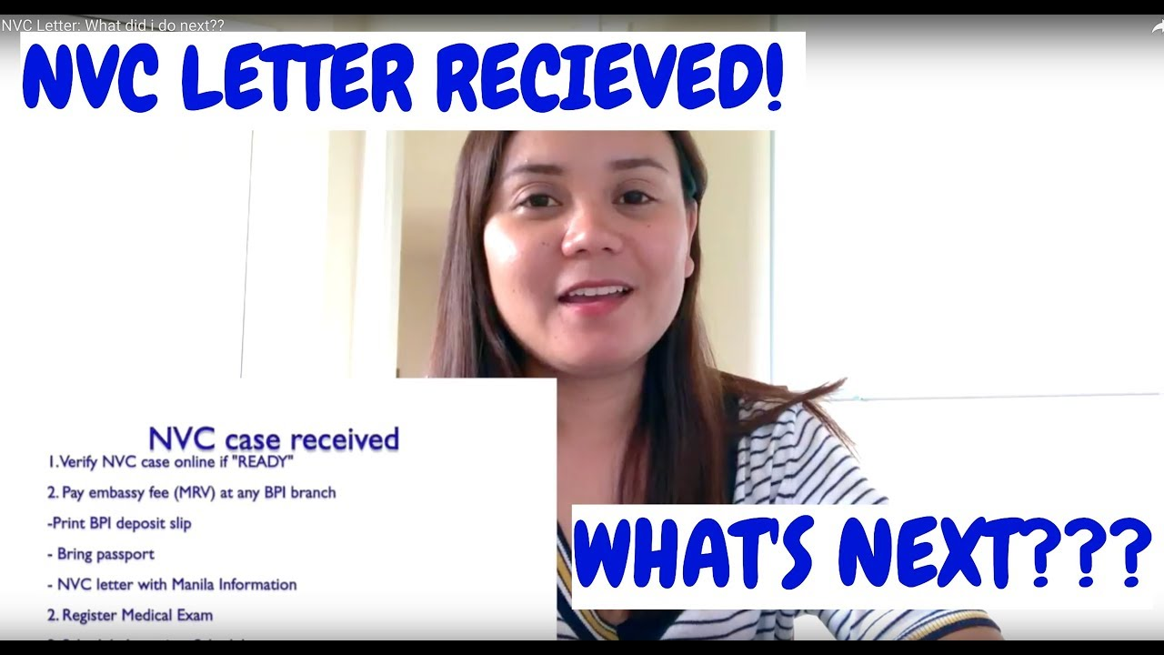 What To Do After I received NVC Letter???