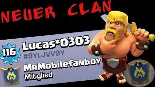 NEUER CLAN! II MrMobilefanboy II Clash of Clans II Let's play CoC II {Deutsch/German}