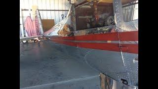 Luscombe 8a - How to Polish Aircraft Aluminum