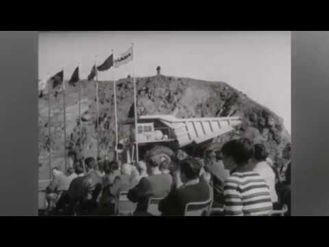 Governor General Opens Mt Newman Mine 1969 Movietone News