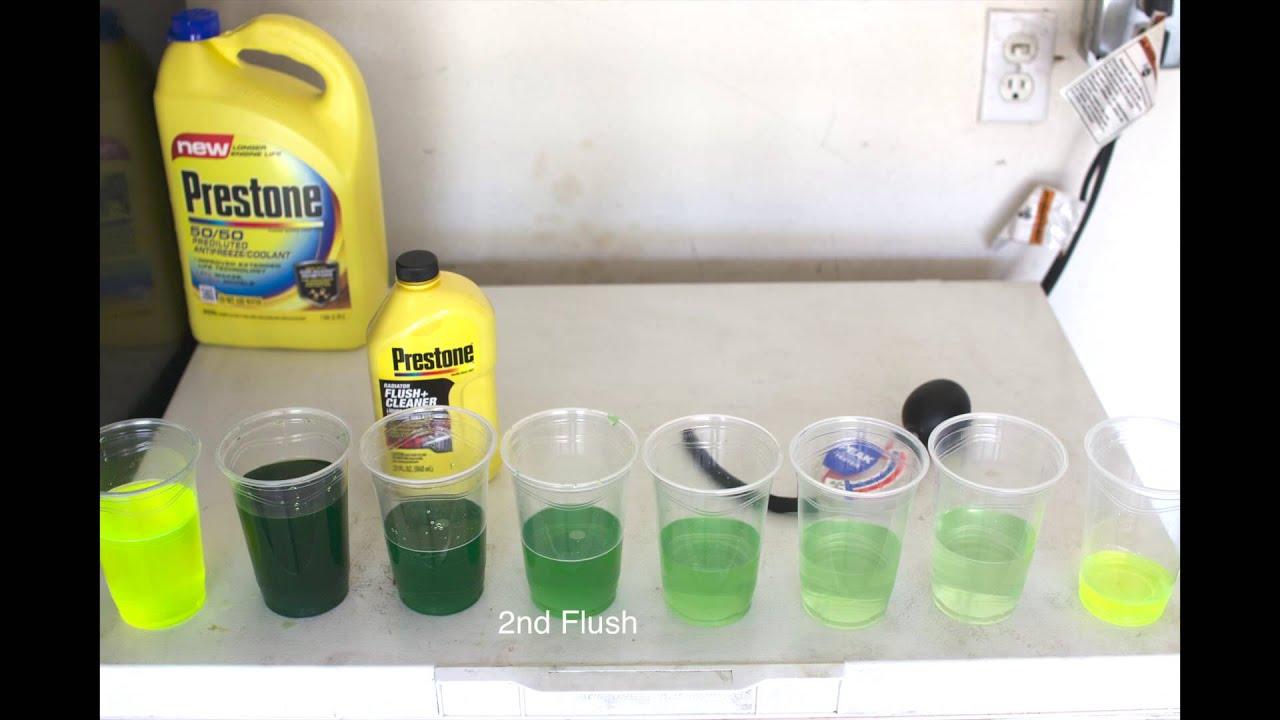 mitsubishi lancer fix: coolant flush, engine coolant change