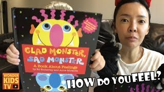 Glad Monster,  Sad Monster by Ed Emberley & Anne Miranda (kids english)