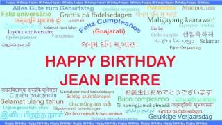 JeanPierre   Languages Idiomas - Happy Birthday
