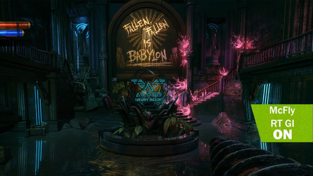 BioShock 2 Ray Tracing Mod Hints at Next-Gen Lighting   Game