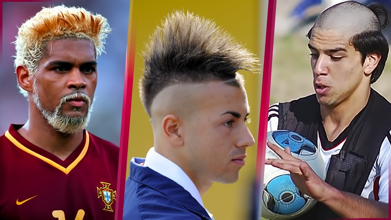 The Ugliest Funny And Cool Hairstyles In Football History - 30 worst haircuts footballing history