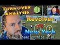 Analysis: 7 Revolver turnovers vs New York's poaching defence - 2018 Men's Pro Championship Final