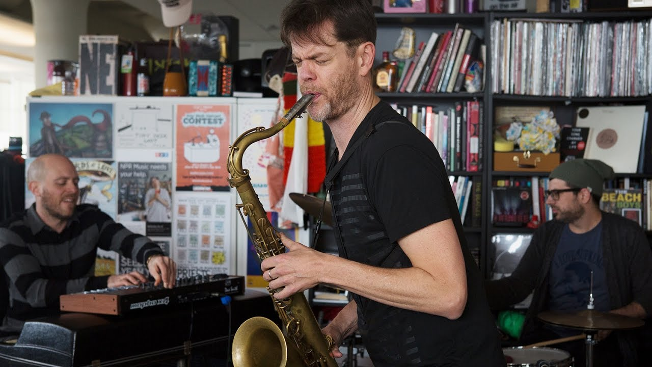 video: Donny McCaslin: NPR Music Tiny Desk Concert