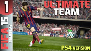 FIFA 15 Ultimate Team PART 1 - First Online Game (PS4)