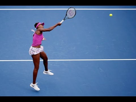 2015 Western & Southern Open First Round | Venus Williams vs Zarina Diyas | WTA Highlights