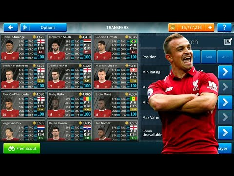 How To Hack Liverpool Team 2018-19 ● All Players 100 ● Dream League Soccer  2019 - NEW UPDATE