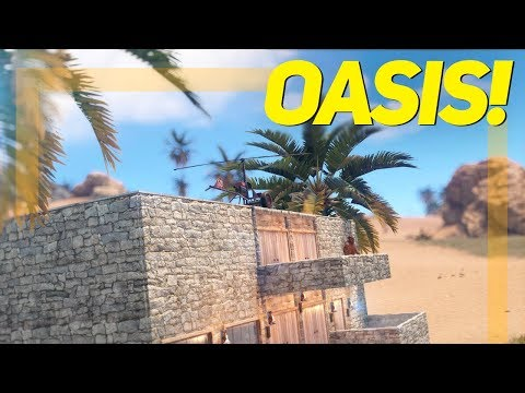 The AMAZING OASIS BEACH BASE - Rust thumbnail