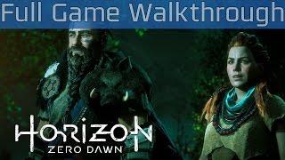Horizon Zero Dawn - Full Game Walkthrough [HD 1080P]