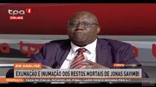 Exumação e inumação dos restos mortais de Jonas Savimbe