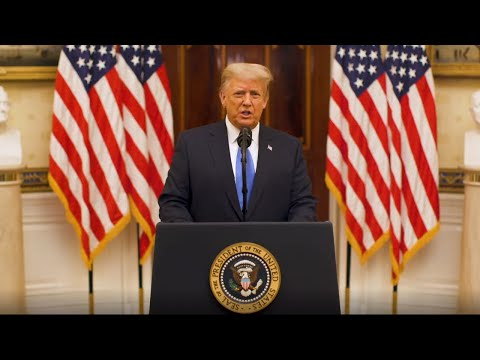 LIVE: PRESIDENT TRUMP FAREWELL ADDRESS TO THE NATION 1/19/21