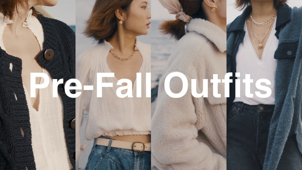 初秋穿搭 / 4套穿搭灵感 / Pre-Fall Outfits / ninido