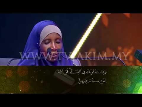 International Al-Quran Memorisation Assembly 2019 - Fatouma Ousseni Moussa (Niger)