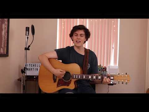 Nothing Breaks Like A Heart - Mark Ronson Ft. Miley Cyrus (Cover By Mitchell Martin)