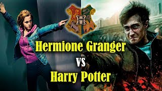 ¿Quién ganaría en una batalla? Hermione Granger vs Harry Potter