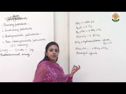 Lecture: Environmental Chemistry