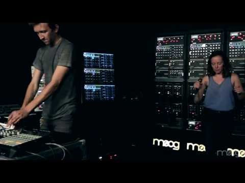 Sylvan Esso   Hey Mami   Moog Sound Lab