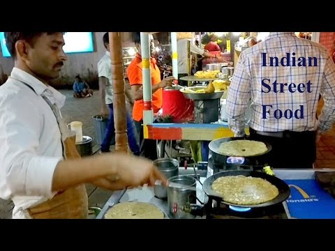 Indian Street Food - Dhapate (धपाटे) A Must Try Food (Pune, India)