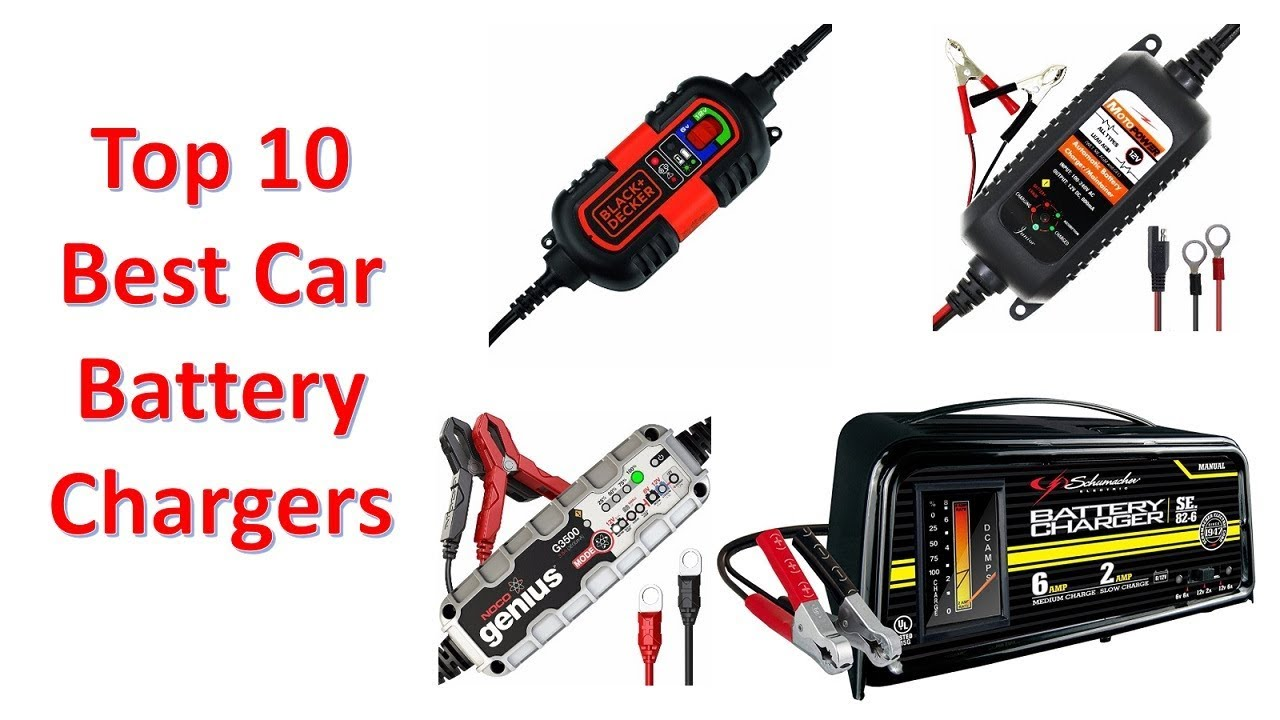 Best Car Battery Chargers of 2018 - Top 10 Battery Chargers