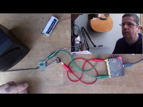 Building an amplifier for music on the micro:bit