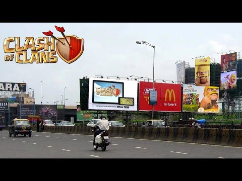 Clash Of Clans Billboards And Outdoor Advertising