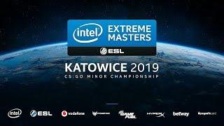 🔴LIVE: [Vietnamese] IEM Katowice 2019 - CIS + EU Minor - Stream B