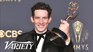 'The Crown' Best Actor Josh O'Connor Full Backstage Speech - 2021 Emmy Awards