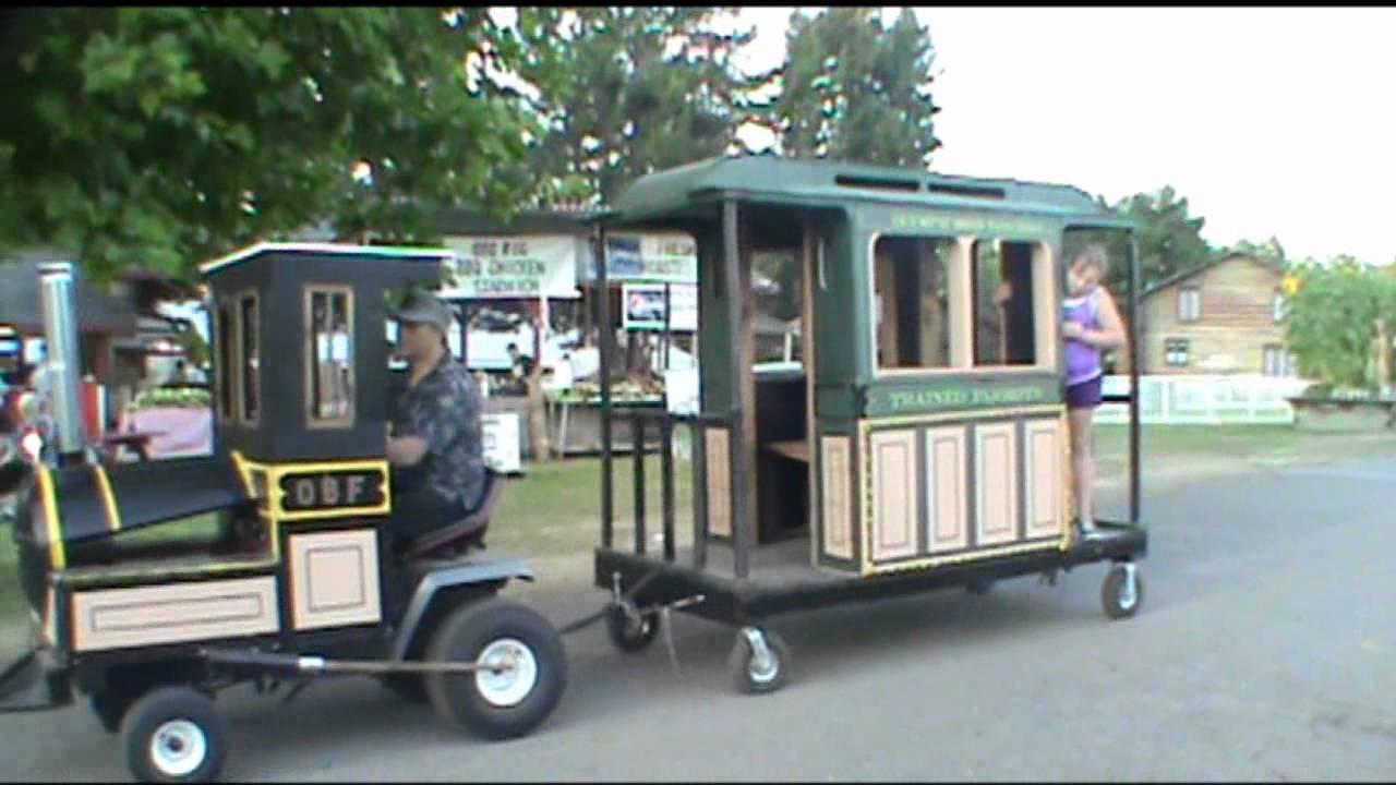 Train Ride Kitsap County Fair Youtube