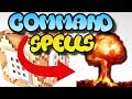 Minecraft Command Block Spell Explosion Tutorial Bedrock Edition (Xbox One,Mcpe,Windows10)