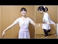 バレエのレヴェランス(お辞儀)の方法 の動画、YouTube動画。