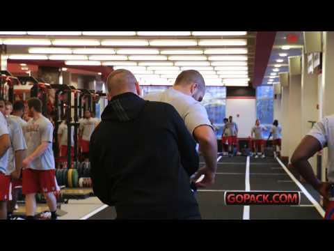 Wolfpack Wire: Jason Veltkamp - Strength & Conditioning Coach