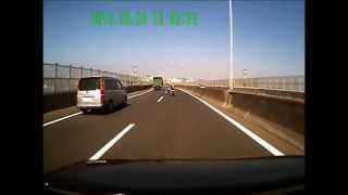 青バイ(大阪府警スカイブルー隊) 大阪湾岸高速走行 青バイ 検索動画 24